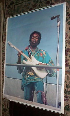 JIMI HENDRIX Phenomenal 1971 Huge Vintage Poster New CONDITION
