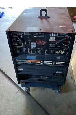 Lincoln Idealarc Tig 300300 Acdc Welder 208-230460v