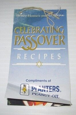 PLANTERS PEANUTS BETTER HOMES GARDENS CELEBRATING PASSOVER PESACH RECIPE