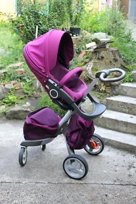 Stokke Xplory V5 Stroller, Purple