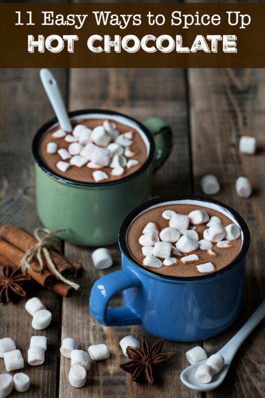 11 Easy Ways to Spice Up Hot Chocolate | eBay