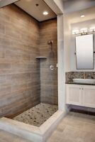 Tile install Kitchen & Bathroom