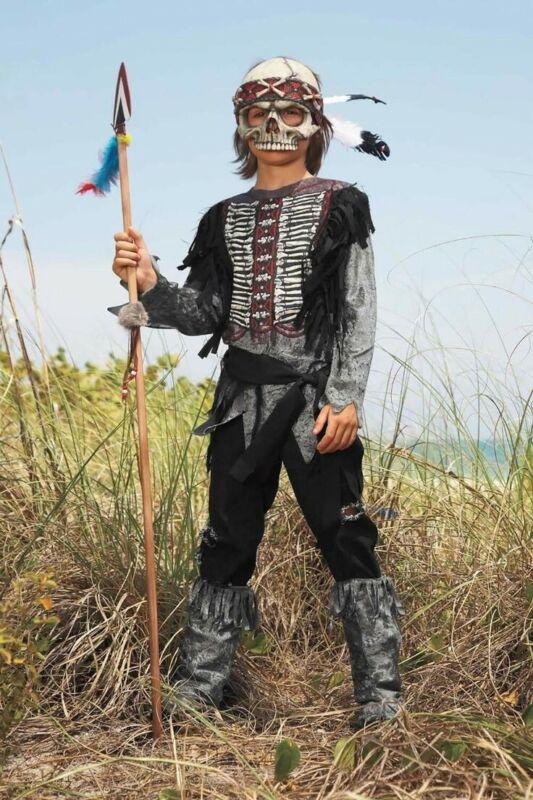 Boys Chasing Fireflies Spirit Warrior Costume Size 8