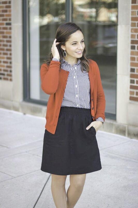 J Crew Stretch Wool Sidewalk Mini Skirt Gray Elastic Waist Pockets Sz 6 Small
