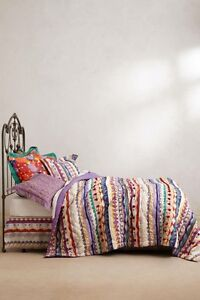 NIP ANTHROPOLOGIE Hullabaloo KING QUILT TRACY REESE Comforter FREE SHIPPING