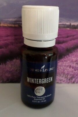 New Batch Young Living Essential Oil Wintergreen  Pure Therapeutic Grade 15Ml