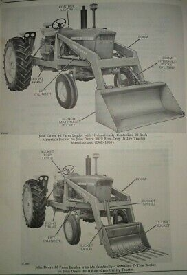 John Deere 46 Farm Loader Parts Catalog Manual Original Fits 3010more Tractors