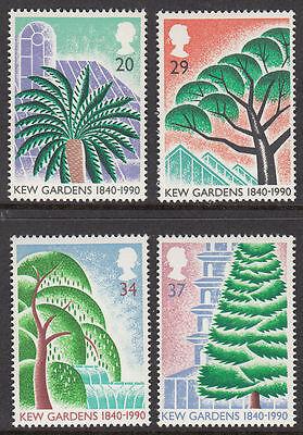 GB MNH STAMP SET 1990 150th Anniversary of Kew Gardens SG 1502-1505 10% OFF 5+