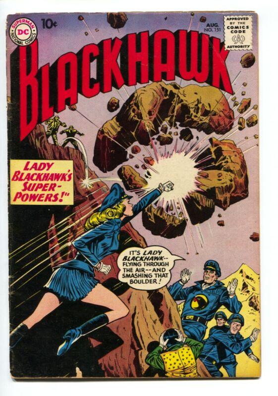 Blackhawk #151 - 1960 - DC - VG+ - comic book