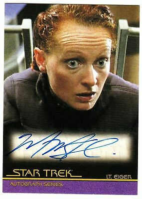 STAR TREK - MOVIES - QUOTABLE - MARNIE MCPHAIL as LT. EIGER - A79 - AUTO