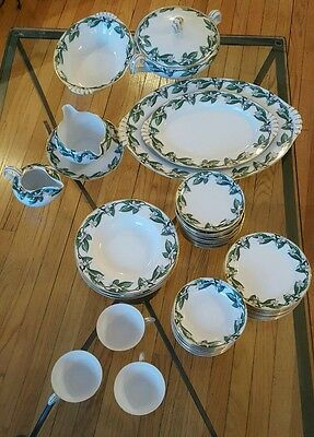 Rare 87 Peice Set Kent China Orange Blossom Dinner Plates Made in Occupied Japan