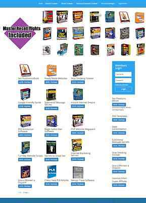 Digital Downloads Shop Website Stocked With Softwareebooksscriptsarticles