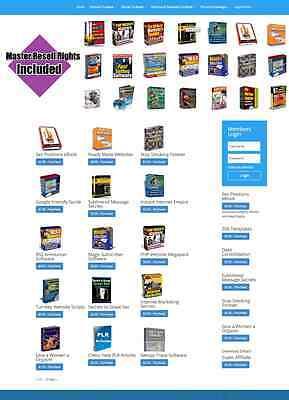 Digital Downloads Shop Website Stocked With Softwareebooksscriptsarticles