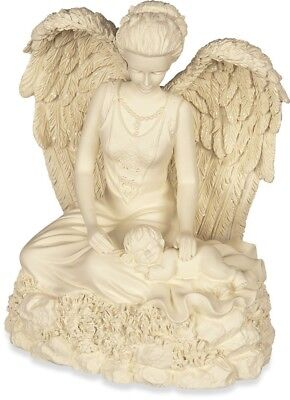 Angel & Baby Cremation Urn Ashes Container Jar Pot Miscarriage Child Loss #46855
