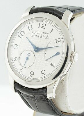 F.P. Journe Chronometre Souverain Platinum LIMITED EDITION Rare 40mm men's watch