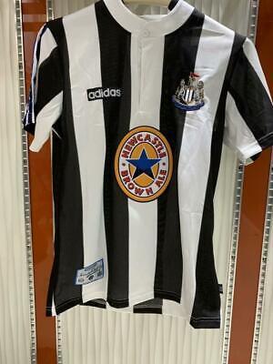 Retro Jersey Newcastle United 1995-1997 Home Football Shirt  #9 SHEARER