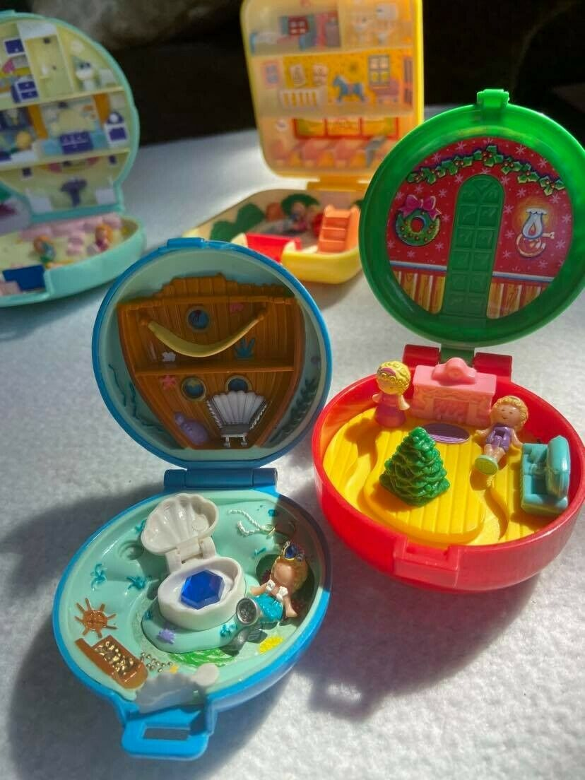 Six Original Bluebell Polly Pockets In Pristine Condition - $400.00