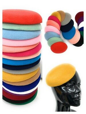 Fascinator Supplies Wholesale (Quality Round Sinamay Felt Fascinator Base Pillbox Hat DIY Supplies Wholesale)