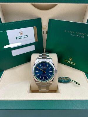 Rolex Milgauss Blue 116400GV Mint 2019