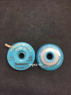 1 Roll 80-5-5 W 4mm Chemtronics Desoldering Wick Soder-wick Chemtronics Usa