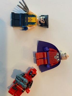 Set of X-Men related Mini-figures (Deadpool, Magneto, Wolverine)