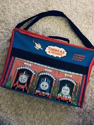 Vintage THOMAS & FRIENDS WOODEN RAILWAY SYSTEM CARRYING BAG by LEARNING CURVE - Friends Wooden Railway System