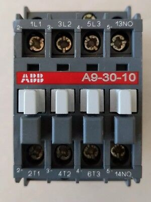 ABB A9-30-10 Contactor 600VAC 3-Phase NO