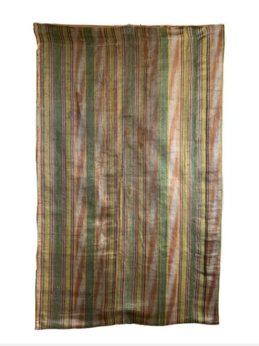 Beautiful Rare 18th Century French Silk Ikat Woven Fabric (2350)