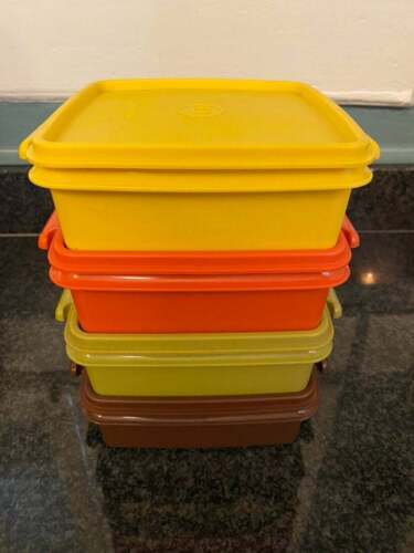 Vintage Tupperware Sandwich Picnic Containers