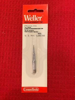 New Weller Ptk7 Long Screwdriver Tip 364 700 F For Tc201 Series Iron