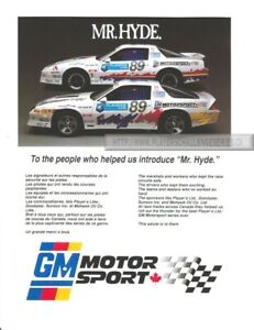 Wanted Players GM Motorsports Items