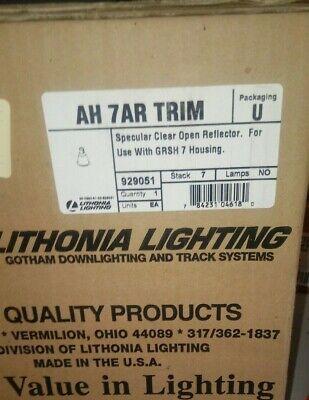 Lithonia Gotham Lighting Specular Clear Open Reflector AH 7AR trim 929051 (Specular Clear Trim)