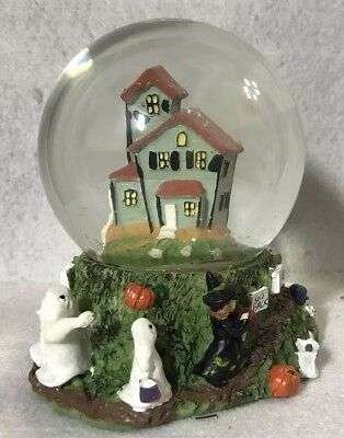 Oriental Trading Co. Resin Halloween Waterball (Discontinued) NEW IN BOX - Oriental Trading Halloween Decorations