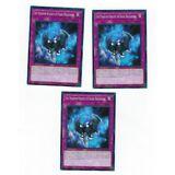 X3 YUGIOH THE PHANTOM KNIGHTS OF SHADE BRIGANDINE LEHD-ENC25 COMMON 1ST IN HAND