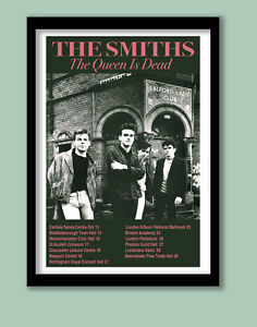 THE SMITHS/ MORRISSEY POSTER . FINAL TOUR PROMO LARGE B2 (50 x 70 cm )PRINT