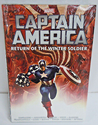 Captain America Return of Winter Soldier Omnibus HC Hard Cover New Sealed $100