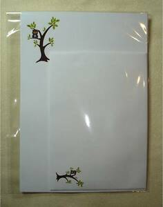 Cheeky-Owl-in-a-tree-Stationery-Letter-Writing-Paper-Set