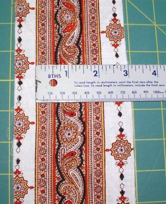 "French Provence 2"" Extensive French Border Cotton Fabric Trim BTY"