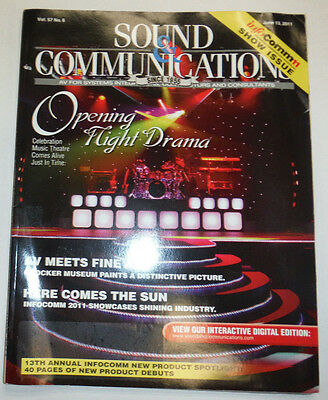 Sound & Communications Magazine Opening Night Drama June 2011 2032615R