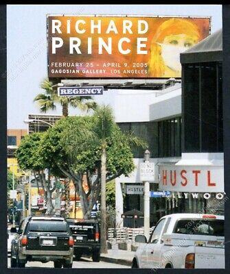 2005 Richard Prince nurse billboard art LA gallery vintage print ad