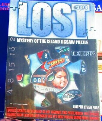 🔥 Lost Mystery of the Island Mystery Jigsaw Puzzle The Others WRAPPED #3 🔥