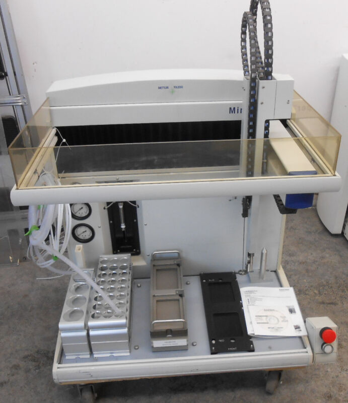 Mettler Toledo Mini Mapper  Automated Parallel Synthesis Workstation