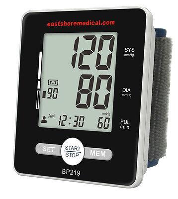 BP219 Wrist Talking Blood Pressure Monitor W/ MWI technology, Heart positioner