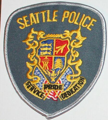 SEATTLE POLICE Washington WA PD patch #1