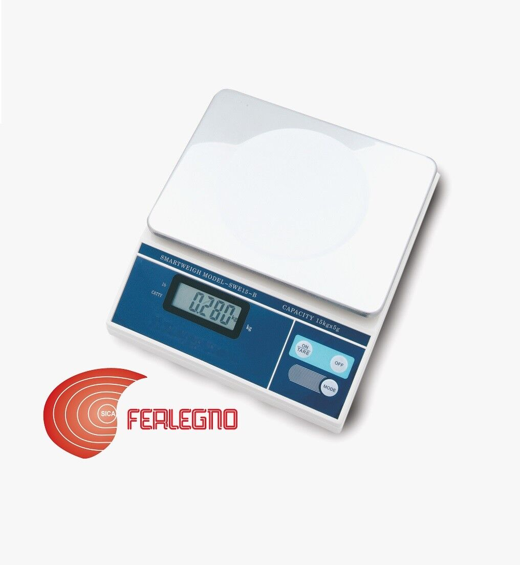SCALE KITCHEN WEIGHS FOODS ELECTRONIC PROFESSIONAL 33.1 lbs ART.705 STUBE