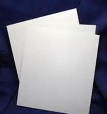 3 SHEETS WHITE PLASTIC SHEET / PLASTICARD 0.5mm (20 Thou) THICK EXPO 56020