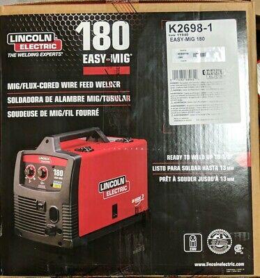 Lincoln K2698-1h Easy-mig 180 Welder - New