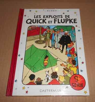 QUICK ET FLUPKE SERIE 9 SOUS CELLO RE Hergé (auteur Tintin & Milou Jo & Zette)