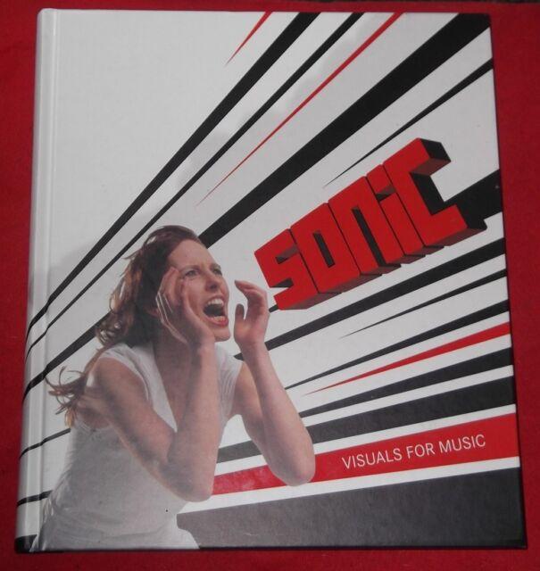 SONIC ~ Visuals for Music ~ Ed by Robert Klanten,Hendril Hellige,Tom Hulan ~ H/C