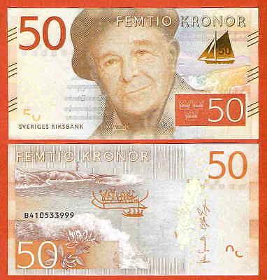 P70a  Sweden / Schweden  50 Kronor   2015   UNC neu